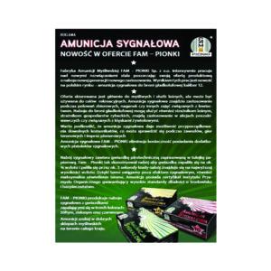 Amunicja Sygnałowa FAM PIONKI 12/70 CZERWONA