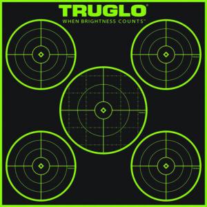 TRUGLO TARGET 5 – BULL 12X12 50PK