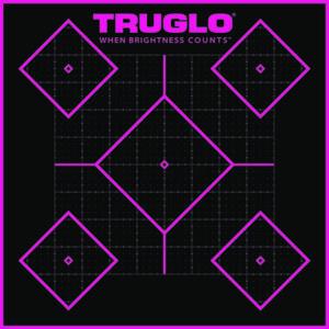 TRUGLO TARGET 5 – DIAMOND 12X12 50PK