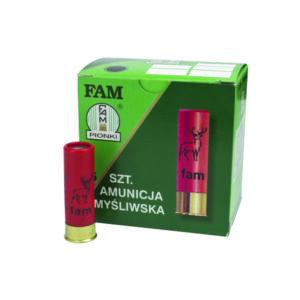Amunicja FAM PIONKI 12/70 GW 32g 4-3mm