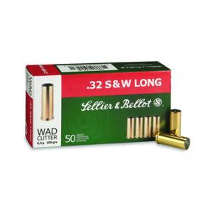 Amunicja S&B kal. .32 S&W LONG WAD CUTTER