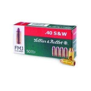 Amunicja S&B kal. .40 S&W FMJ 11,7g