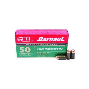 Amunicja BARNAUL kal. 9×18 MAKAROV FMJ 6,1g