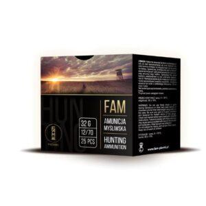 Amunicja FAM PIONKI 12/70 GW 32g 0-4mm