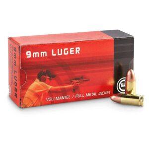 Amunicja GECO kal. 9mm Luger FMJ