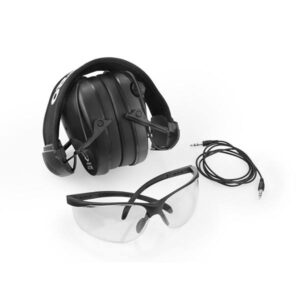 Słuchawki RealHunter ACTIVE PRO (Czarne) zestaw z okularami