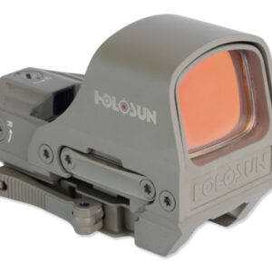 Holosun – Kolimator Open Reflex HS510C FDE Multi Reticle – Solar Panel