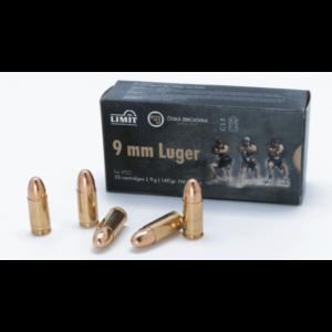 Amunicja 9mm Luger 9g/ 140grs FMJ IPSC