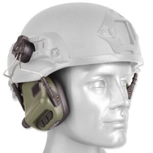 Earmor – Aktywne ochronniki słuchu M31H do hełmów – Foliage Green