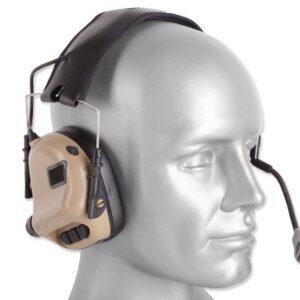 Earmor – Zestaw słuchawkowy M32 Tactical – Coyote Tan