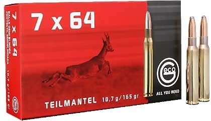 Amunicja 7×64 GECO Teilmantel 10,7g/165gr (20 szt.)
