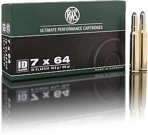 Amunicja RWS 7×64 ID CLASSIC 10,5g (162gr)