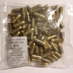 Amunicja B-N 9×19 elaborowana FMJ