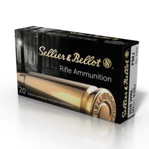 Amunicja kulowa S&B kal. 308Win. FMJ 9.55g