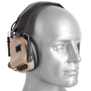 Earmor – Aktywne ochronniki słuchu M31 Mod 3 – Coyote Tan