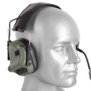 Earmor – Zestaw słuchawkowy M32 Tactical Mod 3 – Foliage Green