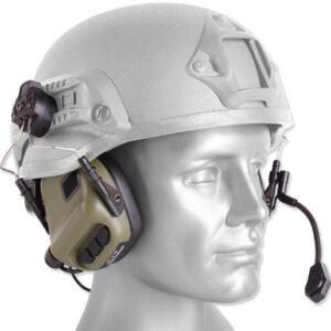 Earmor – Zestaw słuchawkowy M32H Tactical Mod 3 – Foliage Green