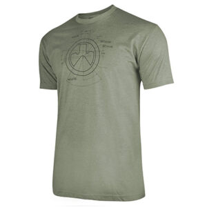 Magpul – Koszulka Engineered CVC T-Shirt – Olive Drab – MAG1118-317