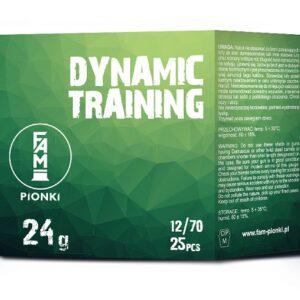 Amunicja FAM PIONKI 12/70 Dynamic Training 24g