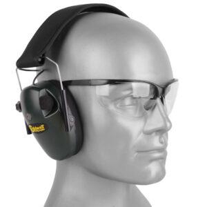 Caldwell – Aktywne ochronniki słuchu E-Max Low Profile z okularami