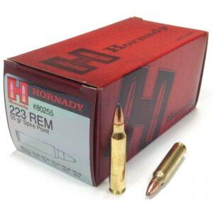 Amunicja Hornady kal. 223Rem SP 55gr/3,6g (50szt) 80255