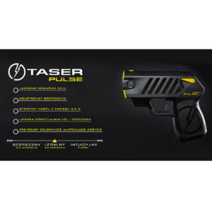 Paralizator Taser Pulse Laser Pointer SET