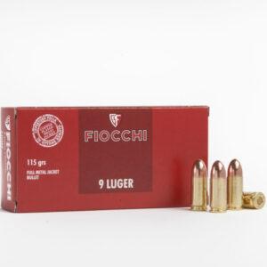 Fiocchi CLASSIC 9 mm 115 gr LUGER FMJ