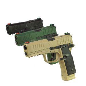 Pistolet VIS 100 Cerakote FDE/Green kal. 9×19