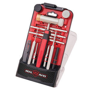 Real Avid – Zestaw Accu-Punch Hammer & AR15 Pin Punch Set – AVHPS-AR