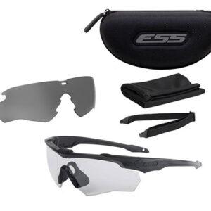 ESS – Crossblade 2LS Kit – Czarne – Clear & Smoke Gray – EE9032-02