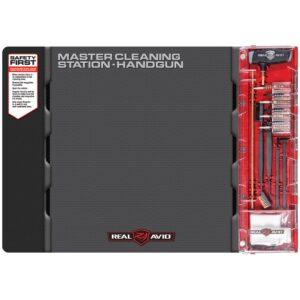 Real Avid – Mata rusznikarska z zestawem narzędzi Master Cleaning Station