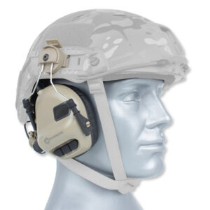 Earmor – Aktywne ochronniki słuchu M31H Mod 3 do hełmu – Coyote Tan