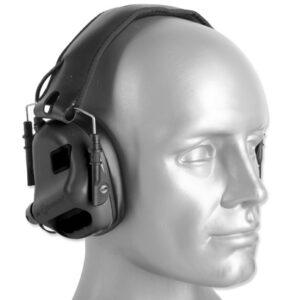 Earmor – Aktywne ochronniki słuchu M31 Mod 3 – Czarny