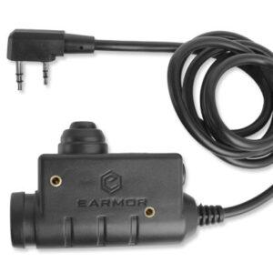 Earmor – M51 PTT Military Standard Version – Kenwood – M51-KEN
