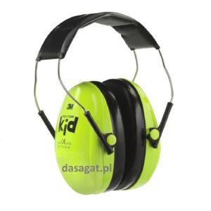Słuchawki KID dla dzieci zielony 3M
