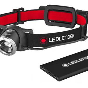 Ledlenser – Akumulatorowa latarka czołowa H8R z powerbankiem – 600 lm
