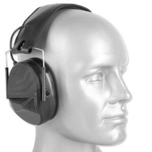 Earmor – Aktywne ochronniki słuchu M30 – Czarny
