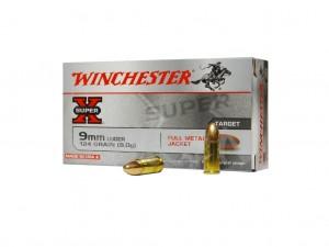Amunicja pistoletowa Winchester FMJ kal. 9×19