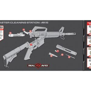 Real Avid – Mata Master Cleaning Station – AR15 – AVMCS-AR
