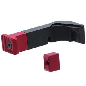 Strike Industries – Modułowy zwalniacz magazynka do Glock – Czerwony
